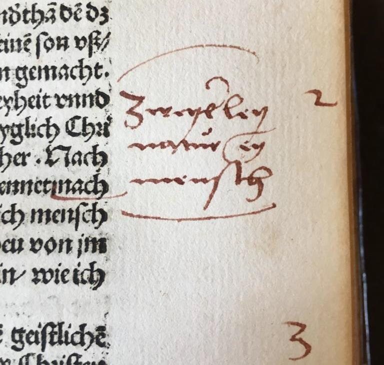Ill. 14: Taylorian, Arch.8o.G.1519(11/14), A2r