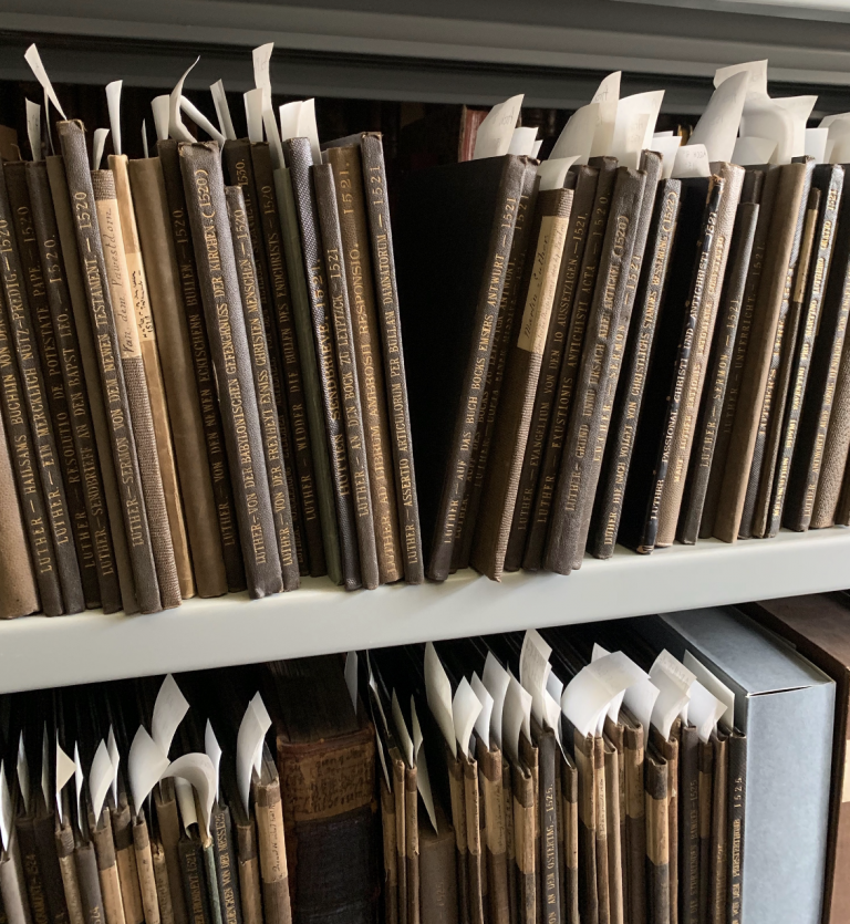 Reformation Pamphlets in the Taylor Institution Library, Oxford