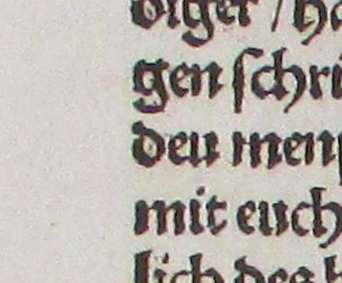 page a1v of the Speyer print of 'Von der Freiheit eines Christenmenschen' signature: Arch.8o.G.1519(11/14)